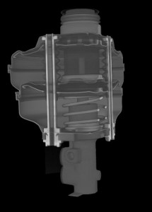 HE Axial CT image of a booster